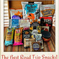The Best Road Trip Snacks and Beverages #WGTravel #roadtrip