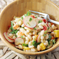 Rancho Gordo's Alubia Bean Salad with Pineapple Vinaigrette