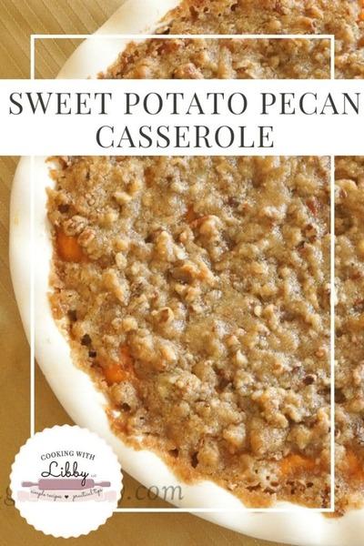 Sweet Potato Pecan Casserole {Thanksgiving Food}
