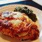 Lightened up Chicken Parmesan
