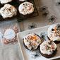Mini Halloween Chocolate Cakes #Choctoberfest