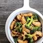 Stir Fried Fish and Broccoli in Mushroom Black Bean Ginger Sriracha Sauce