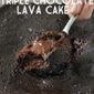 Slow Cooker Triple Chocolate Lava Cake