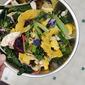 Pumpkin Squash Veggie Salad Bowls