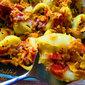 Taco stuffed lumaconi