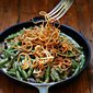Fresh Green Bean Casserole with Crispy Onions