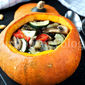 Stuffed pumpkin – Baked vegetables