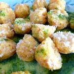 Gnudi (Nudi) Squash Cheese rustic dumplings