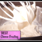 Best Cream Cheese Frosting Recipe