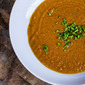 Roasted carrot and ginger soup, thoughts on Thanksgiving, and ways to pay it forward.