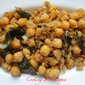 Simple n Quick Chickpea Sundal !!