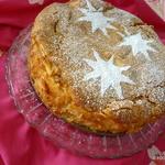 APPLE layered SPIRIT custard cake