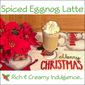 Holiday Coffee Moment with Hamilton Beach® FlexBrew Coffee Maker...Featuring Spiced Eggnog Latte #giveaway #coffeemoments #flexbrew #latte #eggnog