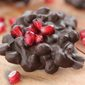Dark Chocolate Covered Pomegranate Drops | Easy Holiday Dessert