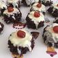 Crispy Chocolate Puddings