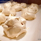 rustic Meringue Spice cloud pastry cookies
