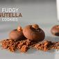 Fudgy Nutella Cookies