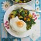 Broccoli, Kale, Winter Squash & Egg Breakfast Brunch
