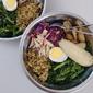 Broccoli, Potato, Chicken Quinoa Bowl