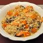 Shrimp, Mushroom, Butternut Squash, Risotto; travel
