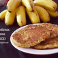 3 INGREDIENTS BANANA PANCAKE RECIPE