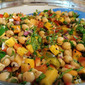 Moroccan Chickpea and Olive Salad
