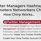 Twitter Management. Gain Twitter Exposure, Traffic Leads & Sales