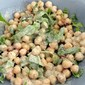 Curried Chickpea Salad Using My Own Masala