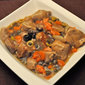 Braised Veal, Carrots, Olives and Capers; stress-less speaking