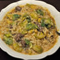 Brussels Sprouts and Sausage Risotto; Netflix?