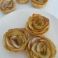Apple Roses Using Puff Pastry
