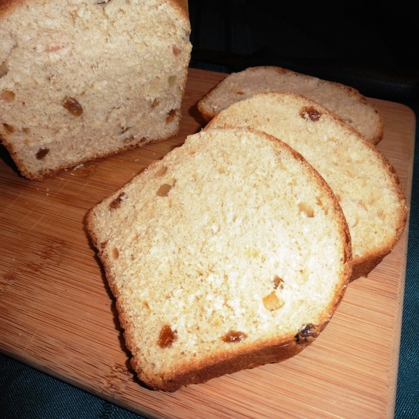 Irish Fruit Bread (Barm Brack)