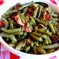 Fresh Green Beans Cooked to Death with Bacon