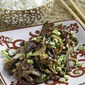 Take-out style Mongolian Beef
