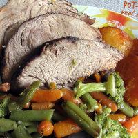 Pot - roast veal shoulder