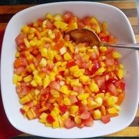Easy Mango Tomato Pico de Gallo