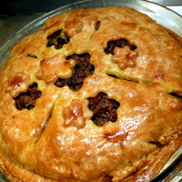 Heritage TOURTIERE spice MEAT pie