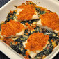 Baked Cod Florentine; food styles