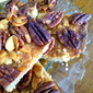 butter Pecan Almond Maple Syrup bars