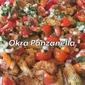 Ingredients * Fried okra, recipe below * 1 cup chopped...