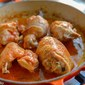 Pollo in fricassea (Chicken Fricassée)