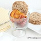 Grilled Honey Peaches with Soft, Chewy Oatmeal Cookies