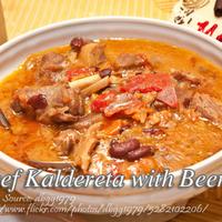 Beef Caldereta with Beer