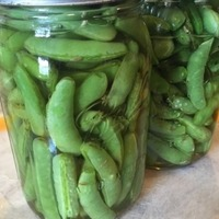 Quick-Pickled Snap Peas With Mint and Fennel RecipeYIELD:Makes about 1 quart ACTIVE TIME: 15...