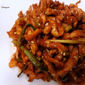 Korean spicy dried radish