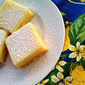 ALMOND crust LEMON sunshine bars
