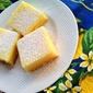 ALMOND crust LEMON sunshine bar