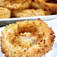 Crispy Air Fryer Onion Rings