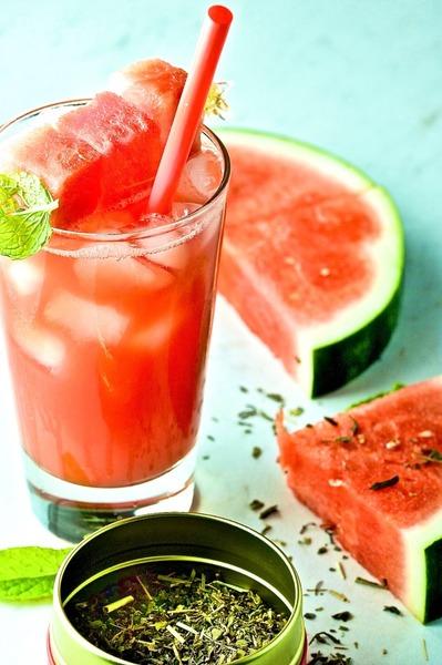 Watermelon Mint Refresher Recipe