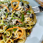 light PASTA dish pleasures